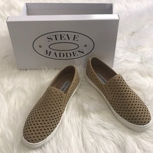 NEW in box Steve Madden Zeena tan shoes